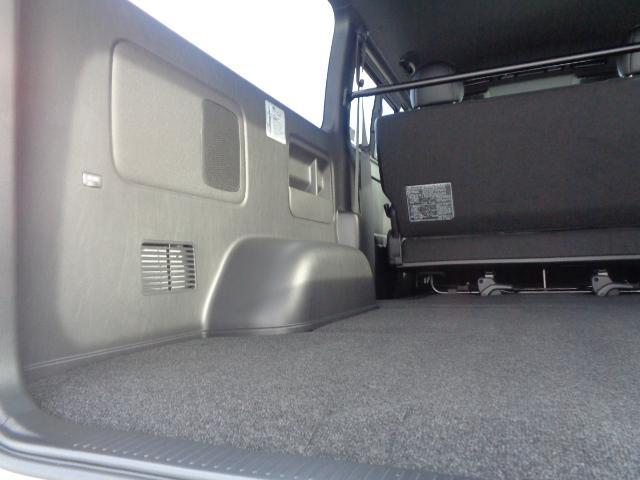 スーパーGL ダークプライムII SDナビ フルセグTV Bluetooth レーダー連動ドライブレコーダー 衝突被害軽減ブレーキ バックカメラ 助手席エアバック AC100V 小窓付き両側スライドドア 純正LEDヘッドライト ターボ(53枚目)