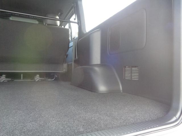 スーパーGL ダークプライムII SDナビ フルセグTV Bluetooth レーダー連動ドライブレコーダー 衝突被害軽減ブレーキ バックカメラ 助手席エアバック AC100V 小窓付き両側スライドドア 純正LEDヘッドライト ターボ(54枚目)