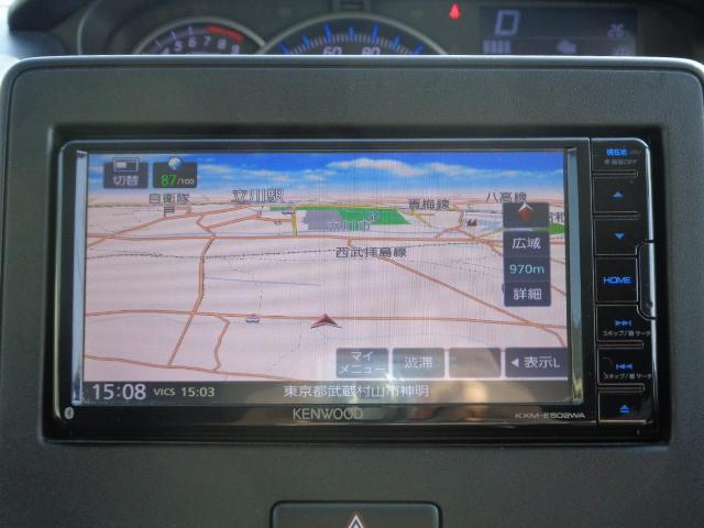 ハイブリッドFZ マイルドハイブリッド スマートキー プッシュスタート ビルトインETC ケンウッドナビ TV 運転席シートヒーター アイドリングストップ LEDヘッドライト オートライト 純正バイザー・フロアマット(19枚目)