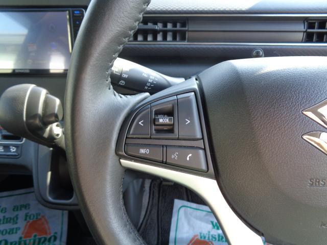 ハイブリッドFZ マイルドハイブリッド スマートキー プッシュスタート ビルトインETC ケンウッドナビ TV 運転席シートヒーター アイドリングストップ LEDヘッドライト オートライト 純正バイザー・フロアマット(25枚目)