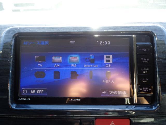 ロングスーパーGL ナビ/フルセグ/バックカメラ/Bluetooth/ETC/100V/シートカバー/両側電動スライド/後席モニター/LEDヘッドライト/社外フロントバンパー/シートカバー/自動防眩ミラー(20枚目)