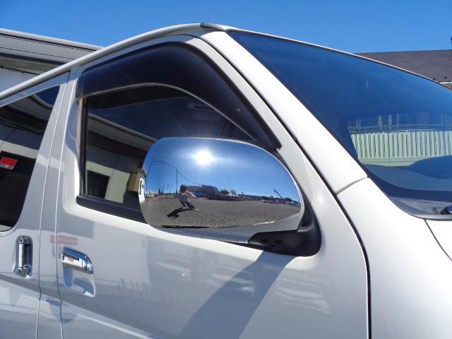 ロングスーパーGL ナビ/フルセグ/バックカメラ/Bluetooth/ETC/100V/シートカバー/両側電動スライド/後席モニター/LEDヘッドライト/社外フロントバンパー/シートカバー/自動防眩ミラー(32枚目)