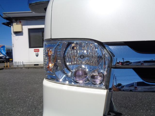 ロングスーパーGL ナビ/フルセグ/バックカメラ/Bluetooth/ETC/100V/シートカバー/両側電動スライド/後席モニター/LEDヘッドライト/社外フロントバンパー/シートカバー/自動防眩ミラー(34枚目)