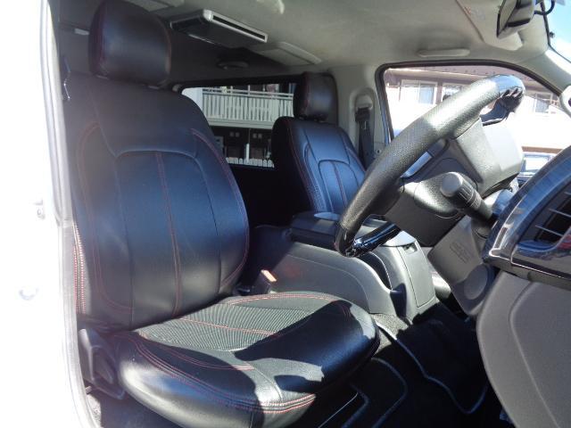 ロングスーパーGL ナビ/フルセグ/バックカメラ/Bluetooth/ETC/100V/シートカバー/両側電動スライド/後席モニター/LEDヘッドライト/社外フロントバンパー/シートカバー/自動防眩ミラー(40枚目)