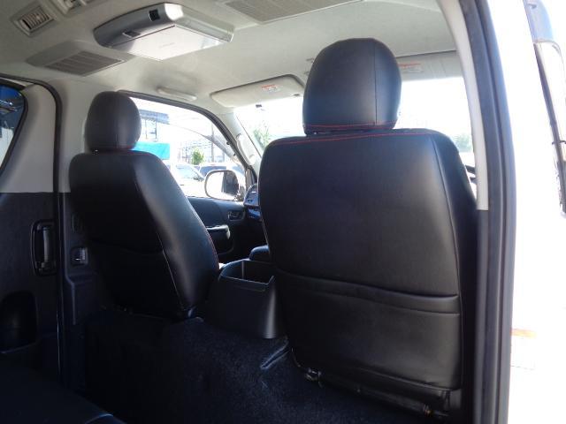 ロングスーパーGL ナビ/フルセグ/バックカメラ/Bluetooth/ETC/100V/シートカバー/両側電動スライド/後席モニター/LEDヘッドライト/社外フロントバンパー/シートカバー/自動防眩ミラー(41枚目)