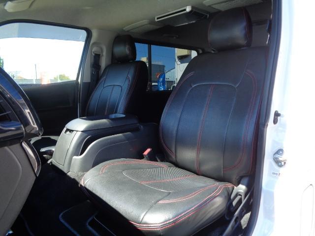 ロングスーパーGL ナビ/フルセグ/バックカメラ/Bluetooth/ETC/100V/シートカバー/両側電動スライド/後席モニター/LEDヘッドライト/社外フロントバンパー/シートカバー/自動防眩ミラー(44枚目)