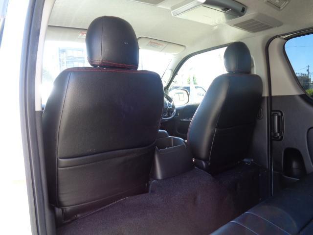 ロングスーパーGL ナビ/フルセグ/バックカメラ/Bluetooth/ETC/100V/シートカバー/両側電動スライド/後席モニター/LEDヘッドライト/社外フロントバンパー/シートカバー/自動防眩ミラー(45枚目)