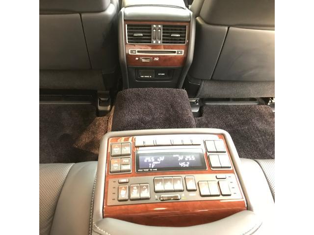 レクサス LS 600hL OP19AW SR 黒革 Rエンタメ TVキャン