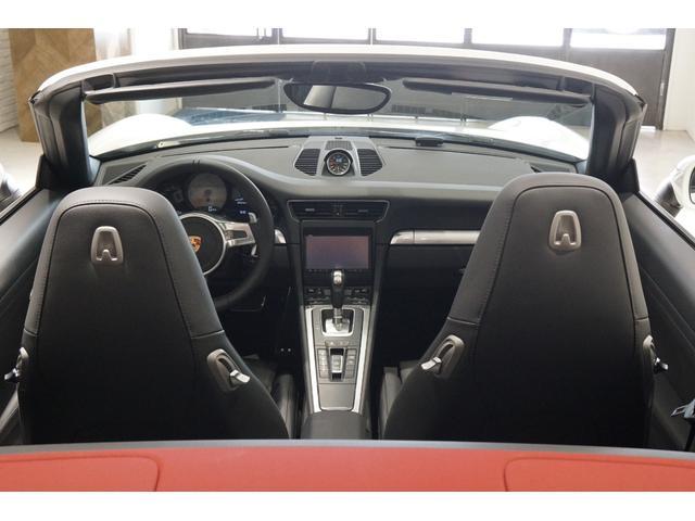 ポルシェ ポルシェ 911カレラS カブリオレ スポーツクロノP 赤幌