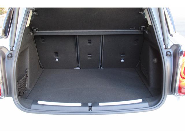 クーパーD クロスオーバー オール4 新車保証付き LEDヘッドライト ペッパーPKG ACC パワーテールゲート 純ナビBカメラ シートヒーター MINIドライブモード ブラックルーフ 4駆ディーゼル 後席USB ルーフレール(18枚目)