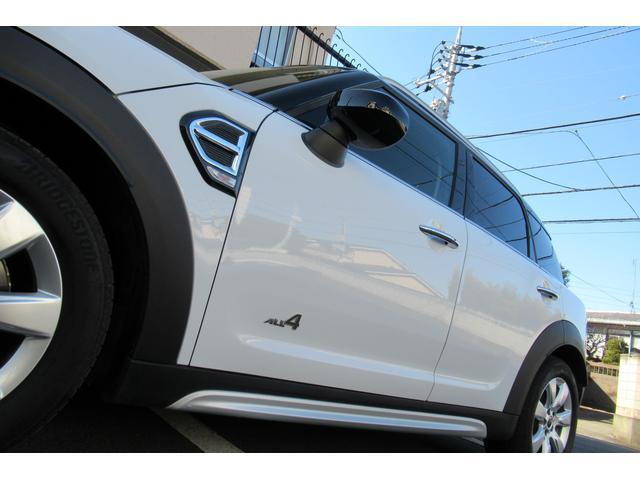 クーパーD クロスオーバー オール4 新車保証付き LEDヘッドライト ペッパーPKG ACC パワーテールゲート 純ナビBカメラ シートヒーター MINIドライブモード ブラックルーフ 4駆ディーゼル 後席USB ルーフレール(32枚目)