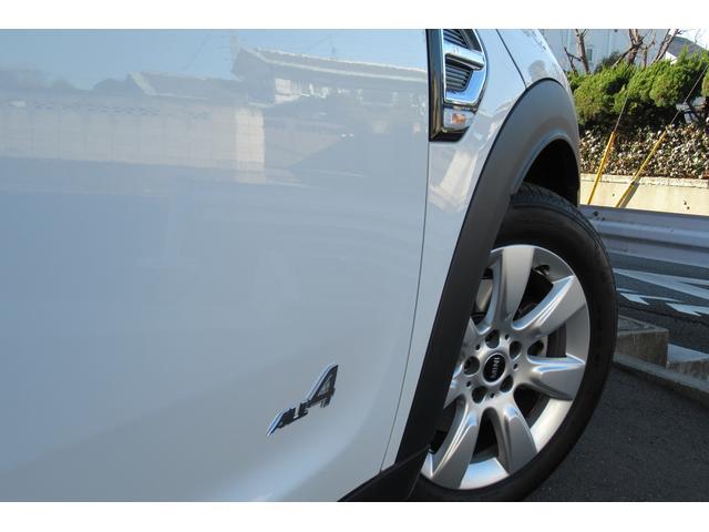 クーパーD クロスオーバー オール4 新車保証付き LEDヘッドライト ペッパーPKG ACC パワーテールゲート 純ナビBカメラ シートヒーター MINIドライブモード ブラックルーフ 4駆ディーゼル 後席USB ルーフレール(51枚目)