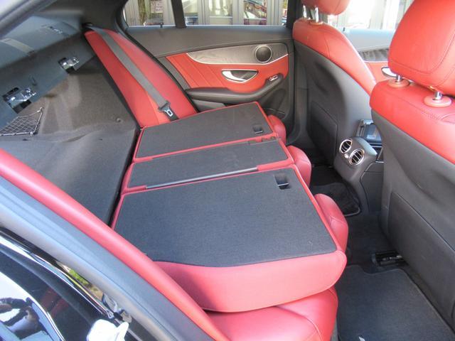C200アバンギャルド AMGライン パワートランク HUD 赤革シートヒーター 両席パワーシート ディストロニック+ エアサス キーレスゴー 純ナビTVバックカメラ  レーダーセーフ(16枚目)