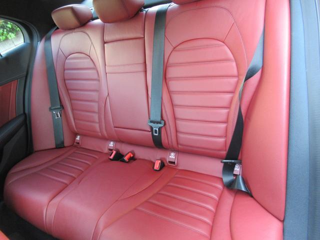 C200アバンギャルド AMGライン パワートランク HUD 赤革シートヒーター 両席パワーシート ディストロニック+ エアサス キーレスゴー 純ナビTVバックカメラ  レーダーセーフ(27枚目)