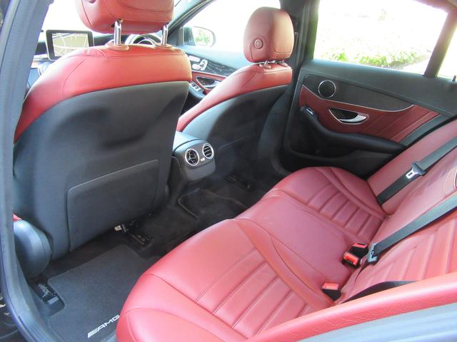 C200アバンギャルド AMGライン パワートランク HUD 赤革シートヒーター 両席パワーシート ディストロニック+ エアサス キーレスゴー 純ナビTVバックカメラ  レーダーセーフ(44枚目)