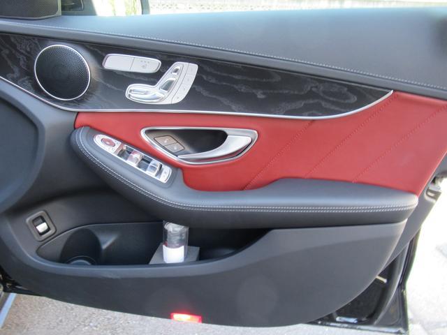C200アバンギャルド AMGライン パワートランク HUD 赤革シートヒーター 両席パワーシート ディストロニック+ エアサス キーレスゴー 純ナビTVバックカメラ  レーダーセーフ(51枚目)