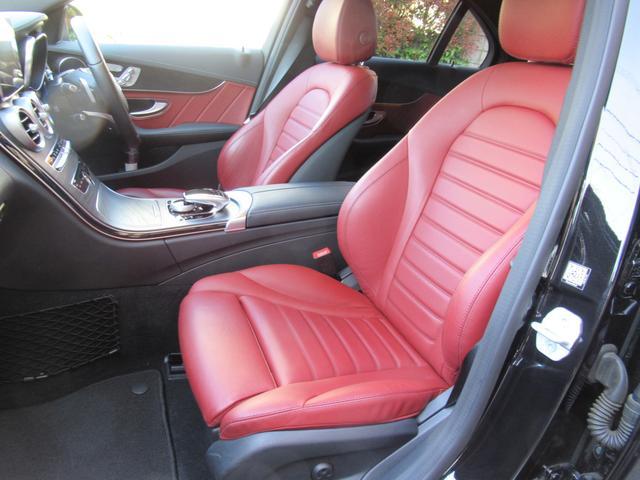 C200アバンギャルド AMGライン パワートランク HUD 赤革シートヒーター 両席パワーシート ディストロニック+ エアサス キーレスゴー 純ナビTVバックカメラ  レーダーセーフ(54枚目)