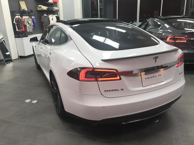 テスラ テスラ モデルS P85+ テスラ認定中古車