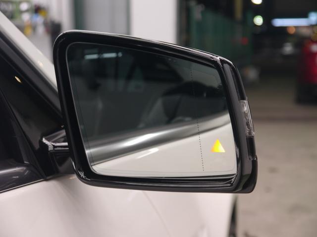 車線変更時に死角に入る車輌をモニタリングしドアミラーに警告灯を表示させるブラインドスポットアシストを搭載しております!ディストロニックプラスやレーンキープアシストを搭載したレーダーセーフティPKG!!