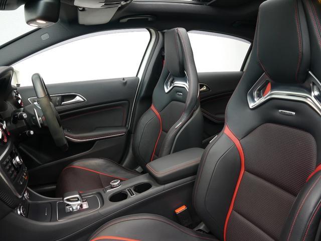 低走行車両ならではの使用感の少ないスポーツシートがお洒落な印象を与えます!シートヒーター・メモリー機能付きパワーシート・ランバーサポート機能を搭載した快適設計です!