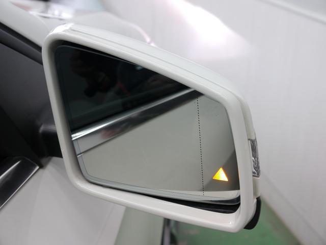 車線変更時に死角に入る車輌を検知しドアミラーに警告するブラインドスポットアシストを搭載!ディストロニックプラスやレーンキープアシストなど安全装備の充実したレーダーセーフティパッケージ装着です!