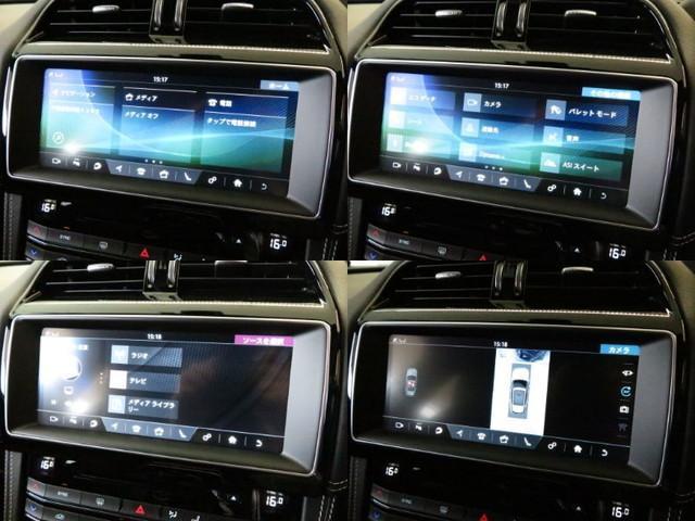 ナビゲーション&デジタルTVを装備。更にはサラウンドカメラシステムを搭載し、車載カメラにて、車を真上から見下ろしている映像をディスプレイに表示。狭い場所での駐車などに役立ちます。