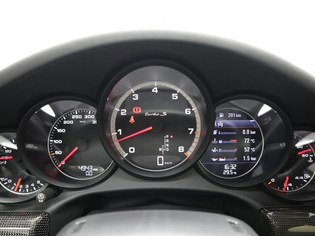 911ターボS スポクロ 黒革  エントリードライブ(14枚目)