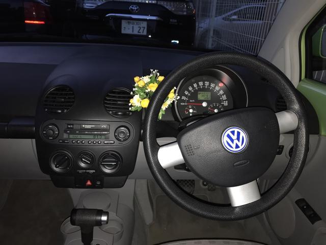 フォルクスワーゲン VW ニュービートル 4AT 記録簿 パワステ エアコン