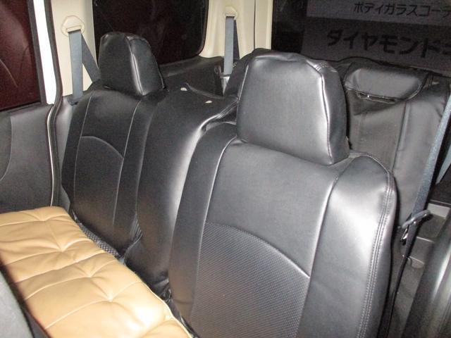 セカンドシート、サードシート広々です!