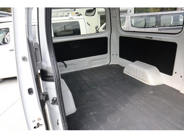 日産 NV350キャラバンバン ロングDXターボ 5ドア低床 法人1オーナ記録簿Tチェーン