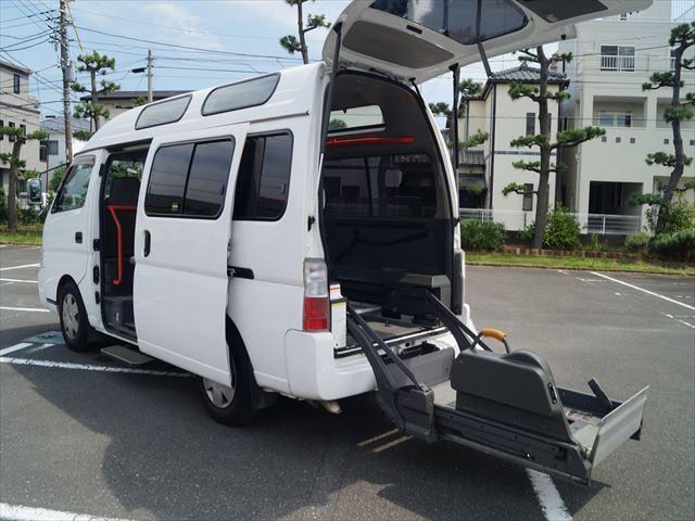 福祉車両電動チェアキャブ車椅子移動車2台積(15枚目)