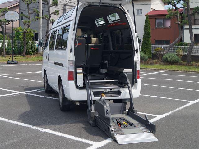 福祉車両電動チェアキャブ車椅子移動車2台積(18枚目)