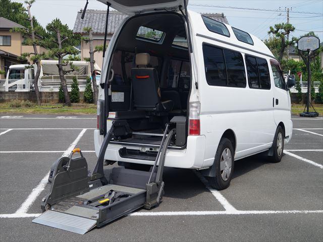 福祉車両電動チェアキャブ車椅子移動車2台積(19枚目)