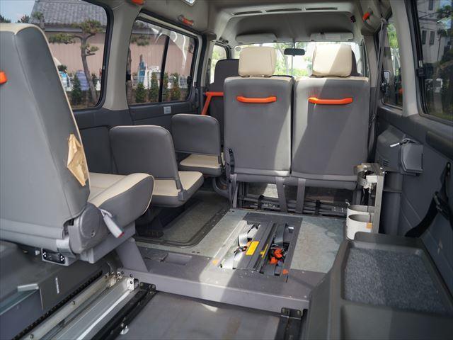 福祉車両電動チェアキャブ車椅子移動車2台積(22枚目)