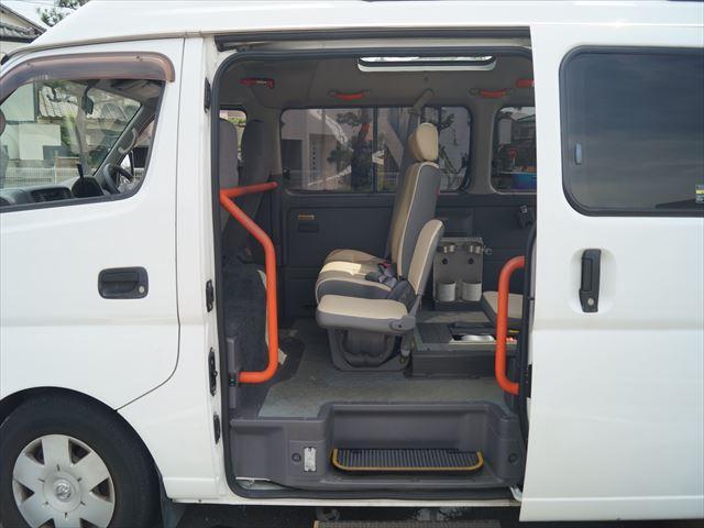 福祉車両電動チェアキャブ車椅子移動車2台積(31枚目)