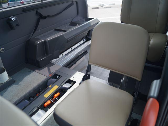 福祉車両電動チェアキャブ車椅子移動車2台積(35枚目)