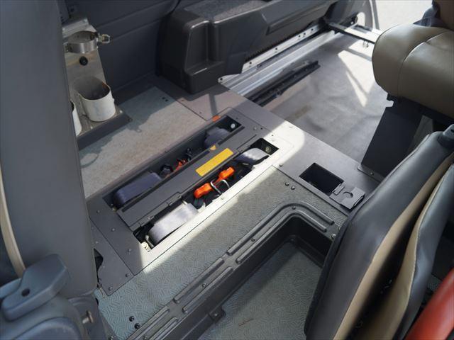 福祉車両電動チェアキャブ車椅子移動車2台積(37枚目)