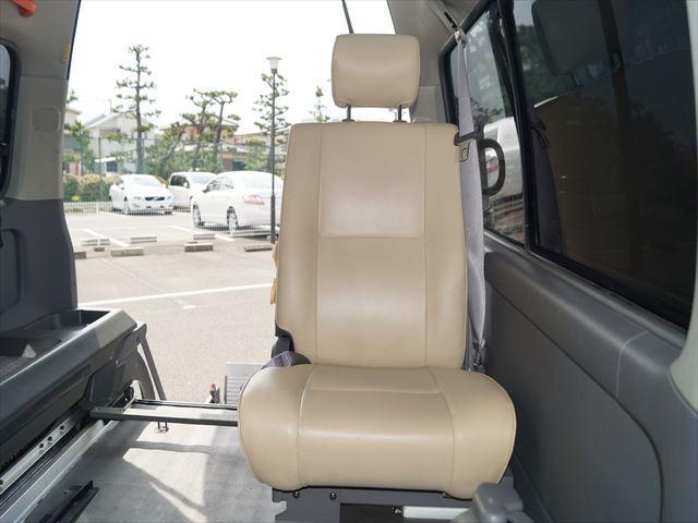 福祉車両電動チェアキャブ車椅子移動車2台積(38枚目)