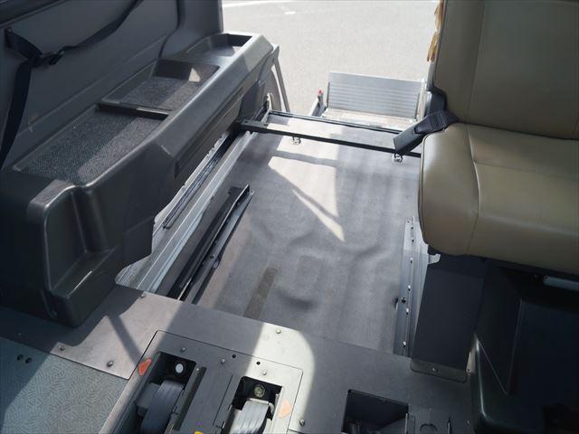 福祉車両電動チェアキャブ車椅子移動車2台積(39枚目)