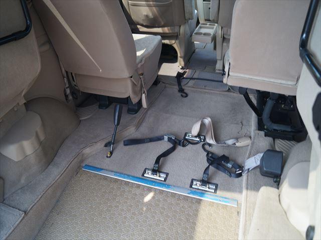 福祉車両 チェアキャブ スロープタイプ補助席付(5枚目)