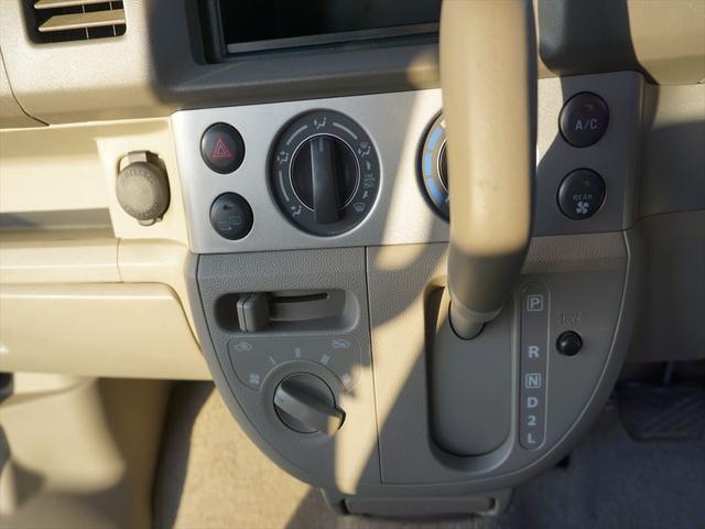 車いす移動車4WDシートヒーター リヤヒーター4人乗モコン付(11枚目)