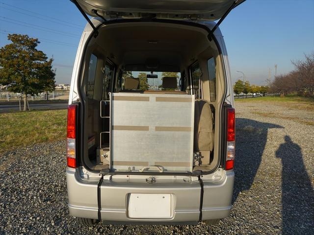 車いす移動車4WDシートヒーター リヤヒーター4人乗モコン付(18枚目)