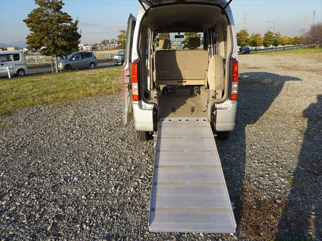 車いす移動車4WDシートヒーター リヤヒーター4人乗モコン付(24枚目)
