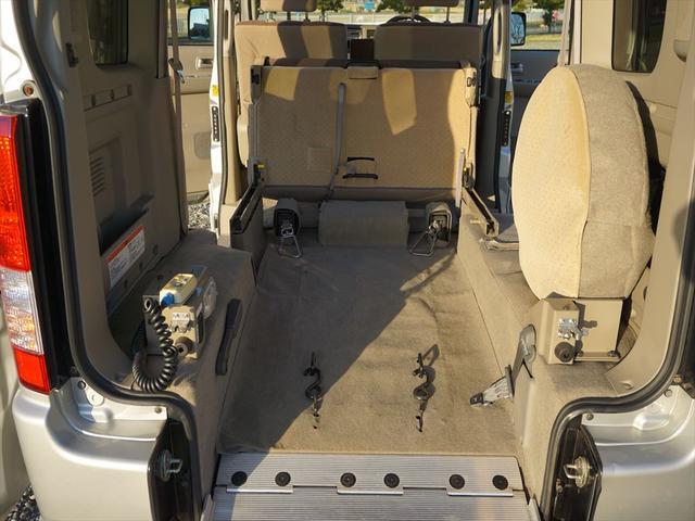 車いす移動車4WDシートヒーター リヤヒーター4人乗モコン付(52枚目)