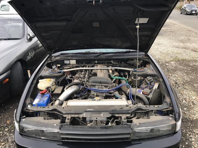 Q's SR20DET載替公認 車高調 GTRシート(5枚目)