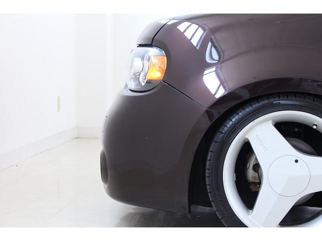 日産 キューブ 15X 車高調 US前後バンパー USヘッドライト LED