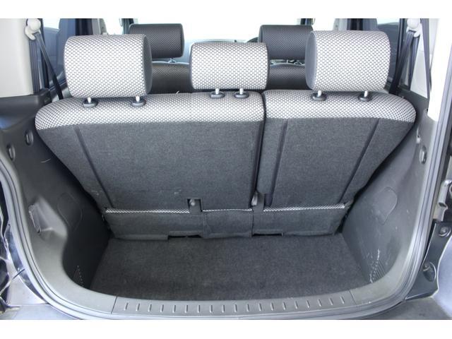 トランクスペースも広々としております!リアシートをスライドすればさらに大きな荷物も積み込み可能です!