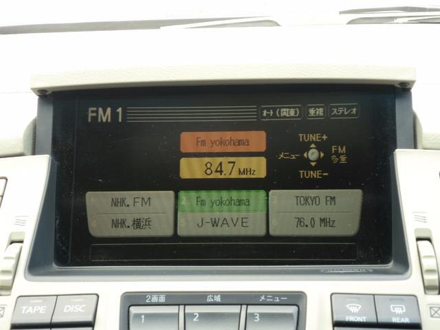 日産 シーマ 450XV ローダウン 社外19AW 地デジチューナー