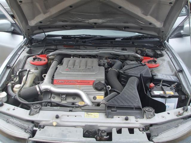 三菱 ギャラン VR-4 4WD ツインターボ 5速MT ワンオーナー