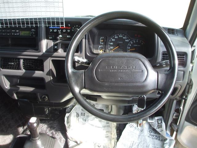 スーパーチャージャー 5速MT 切替式4WD 社外アルミ(16枚目)